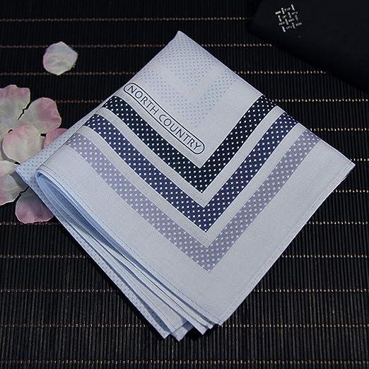 Pañuelos de 2 paquetes, pañuelo antibacteriano 100% algodón para ...
