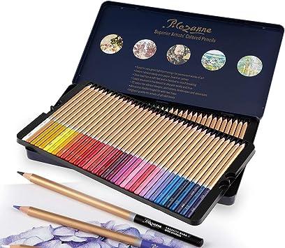 18 24 36 Colouring Oil Art Pencils Set Professional Artist Drawing Sketch Pencil