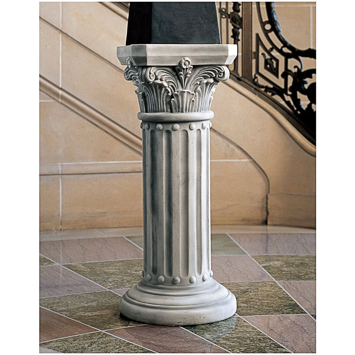 additional supports pedestal empire marble ebay low product itm pair french images stands column
