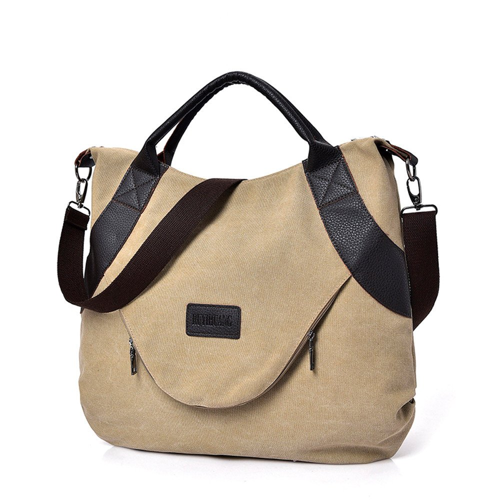 f5206188028e Amazon.com: Sunyastor Womens Casual Canvas Shoulder Bags Vintage ...