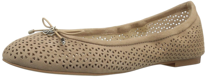 Sam Edelman Women's Felicia 2 Ballet Flat B01J5NWAU0 7 B(M) US|Oatmeal Perforated Suede