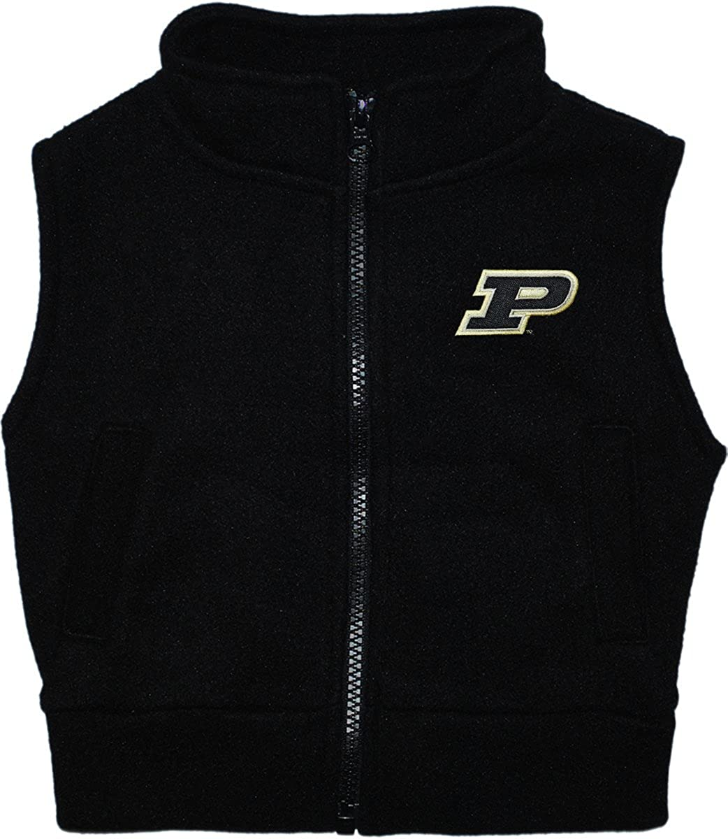 Creative Knitwear Purdue University Boilermakers Baby and Toddler Polar Fleece Vest