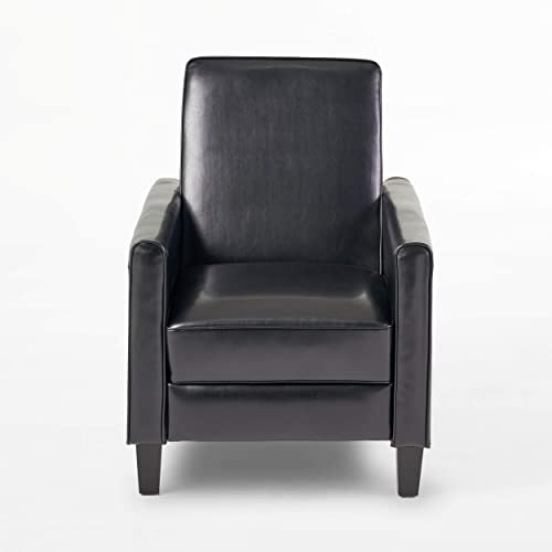 Reviewed: Christopher Knight Home Darvis Leather Recliner Club Chair