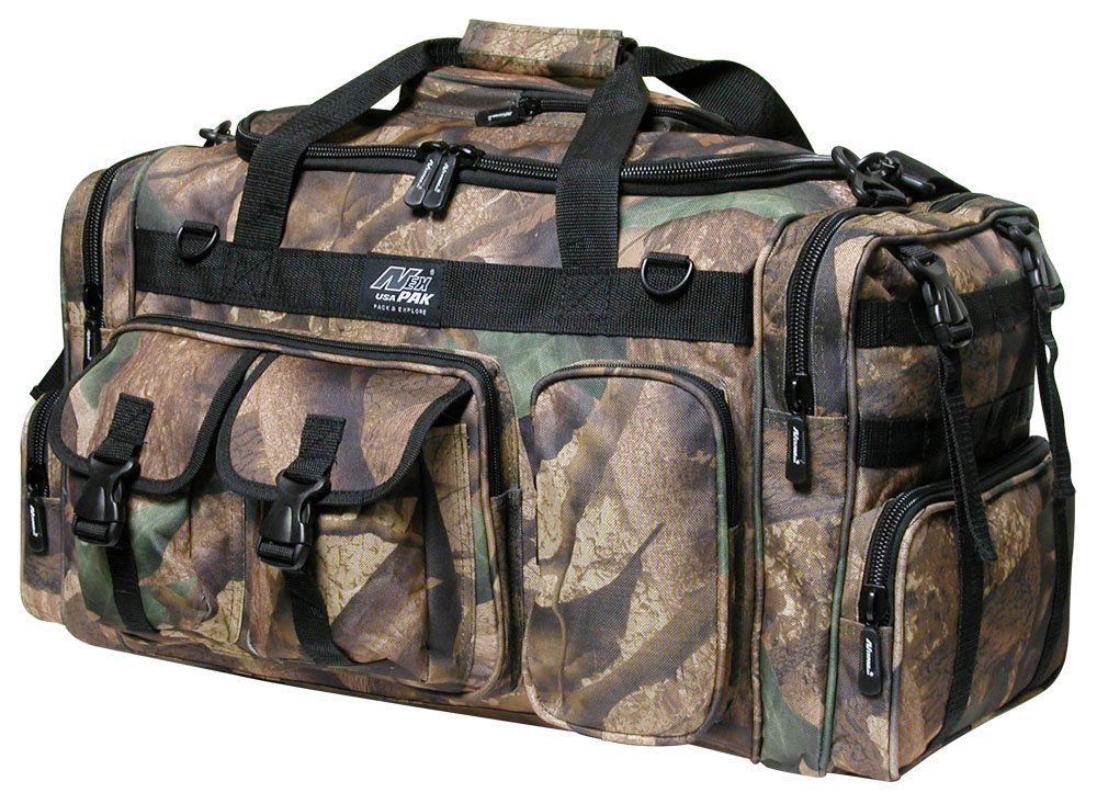 26'' 3800cu.in. NexPak Tactical Duffel Range Bag TF126 Hunters CAMO by Nexpak