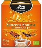 Yogi Zenzero Arancia, 21.6 gr