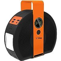 UKing - Estación de acampada de 155 Wh con inversor de corriente CC/CA y 3 QC3.0 USB y Type-C para camping, reserva de…