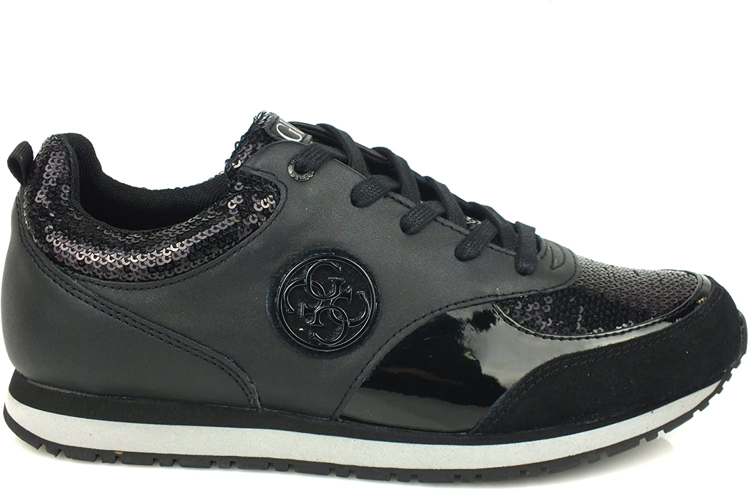 Guess Ladies Reeta Trainers Lace Up