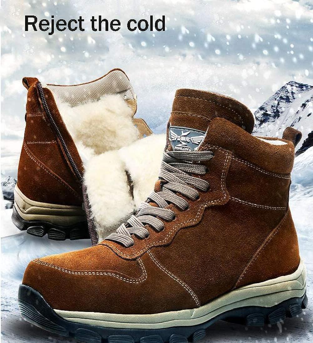 Herren Winterstiefel Snow Stiefel Stiefel Stiefel Mid-Rohr Schuhe Verdicken Warm Outdoor Rutschfeste Wasserdichte Gefütterte Kurze Knöchel Männer Arbeit Utility Footwear 59fd0c