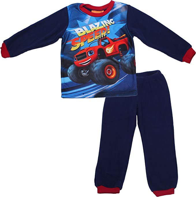 Blaze and the Monster Machines - Pijama dos piezas - para niño azul azul 2 años