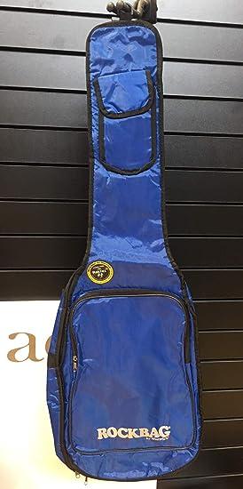 ROCKBAG funda para guitarra eléctrica - Basic Line - Azul/Resistente ...