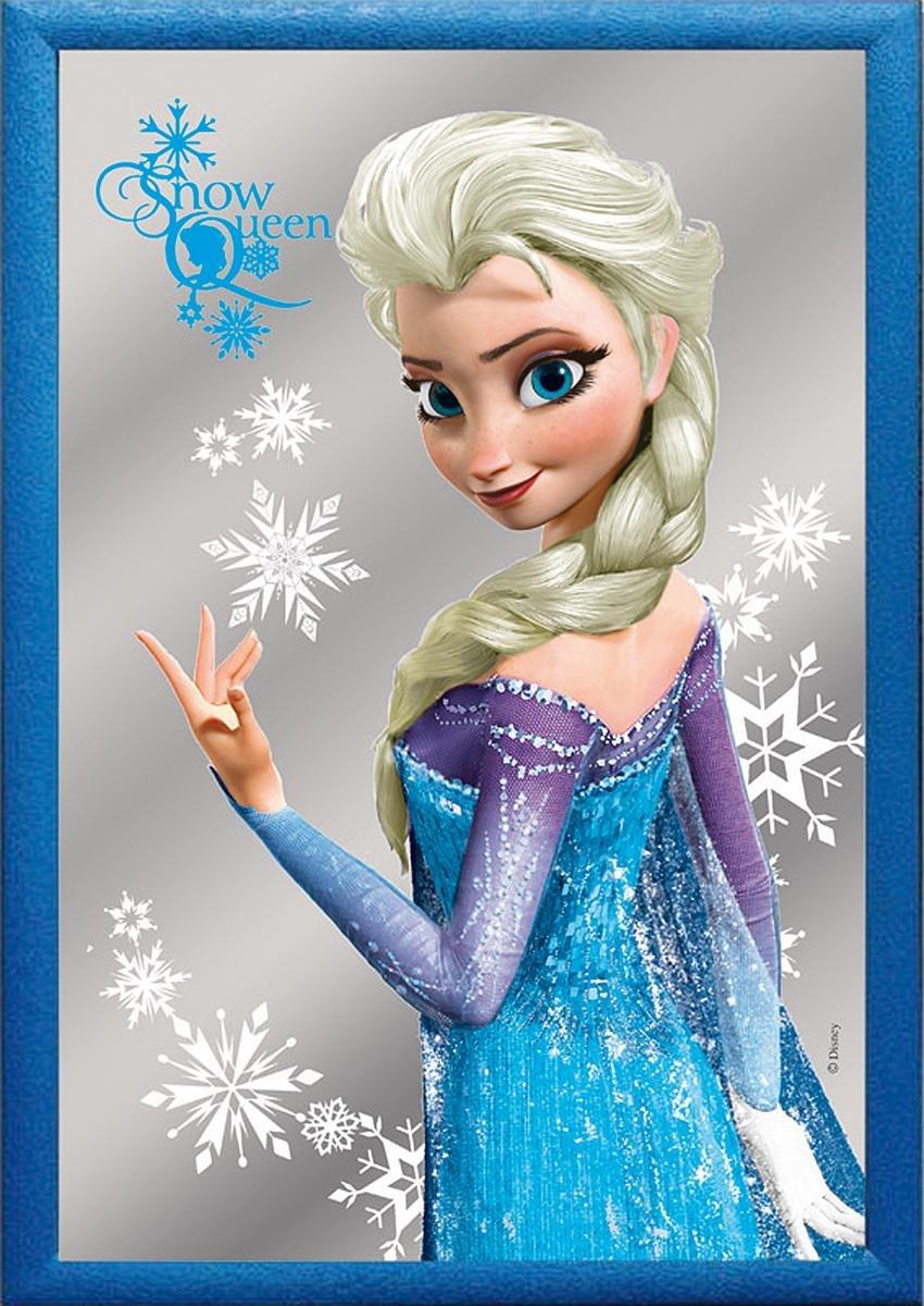 Espejo Frozen/El Reino del Hielo Elsa El Reino del Hielo Close Up