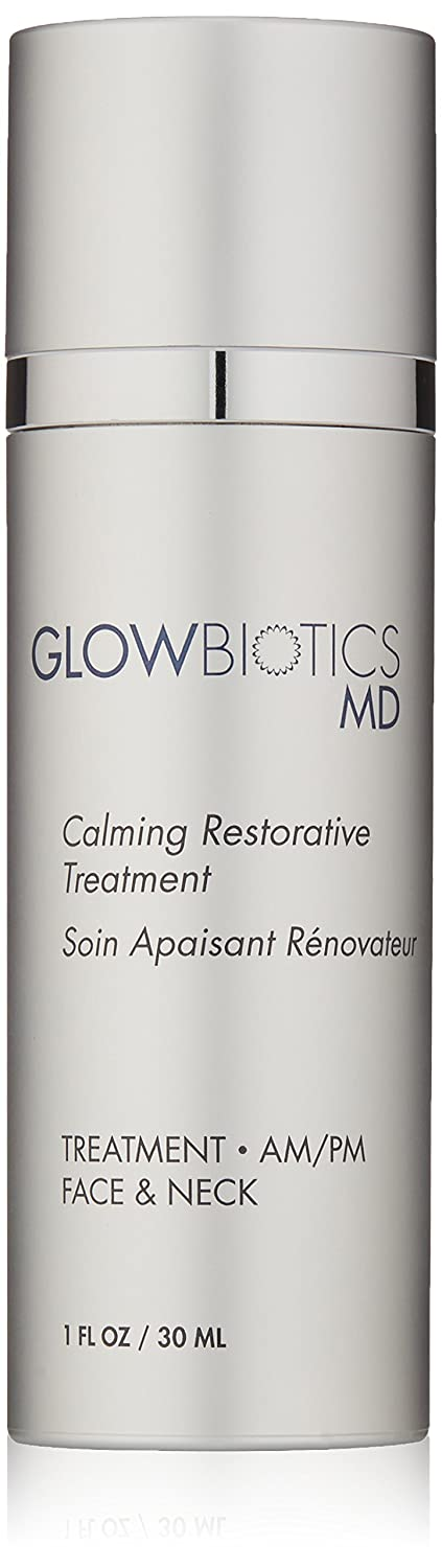 Glowbiotics - Probiotic Calming Restorative Treatment | For Dry, Itchy, And Irritated Skin - For Sensitive Skin (1 Oz)