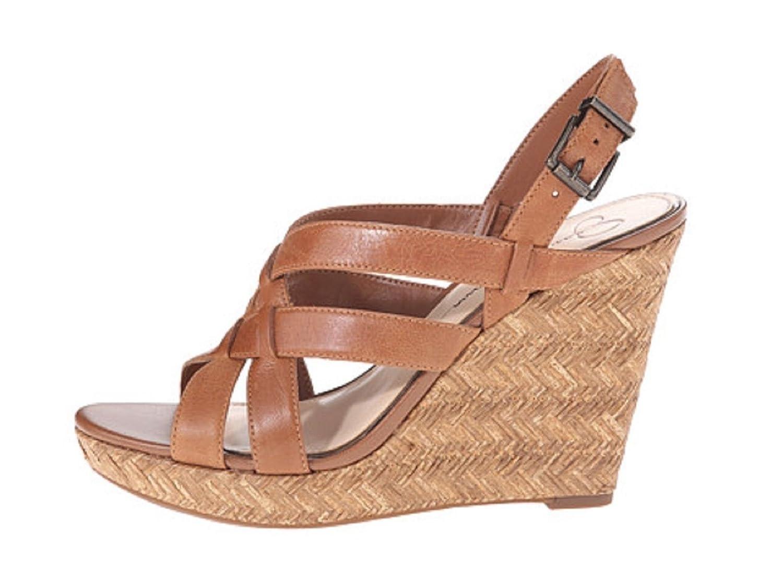 588a9750ca1 Amazon.com | Jessica Simpson Womens Jamallo Wedge Sandals, Burnt ...