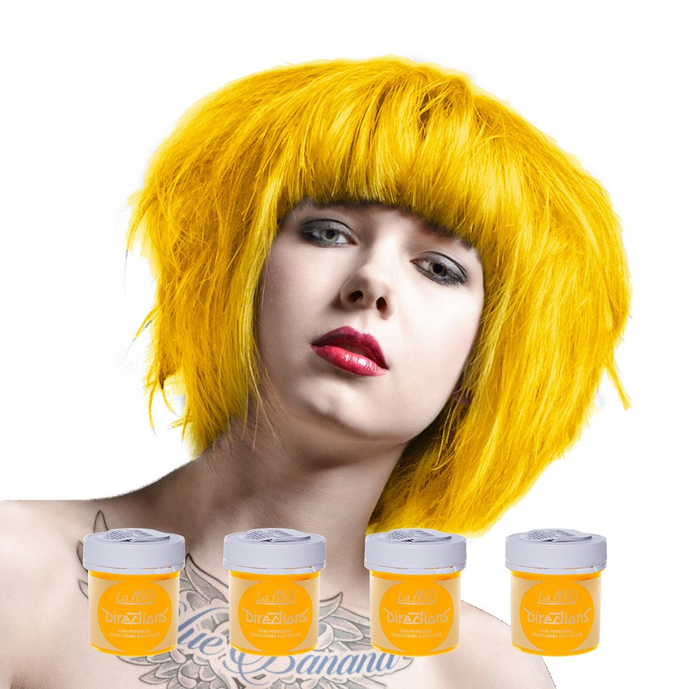 Amazon 4 X La Riche Directions Semi Permanent Hair Colour Dye