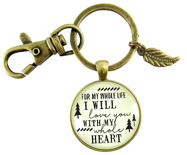 Amazoncom My Future Husband Keychain Gift For Men I Will Love You