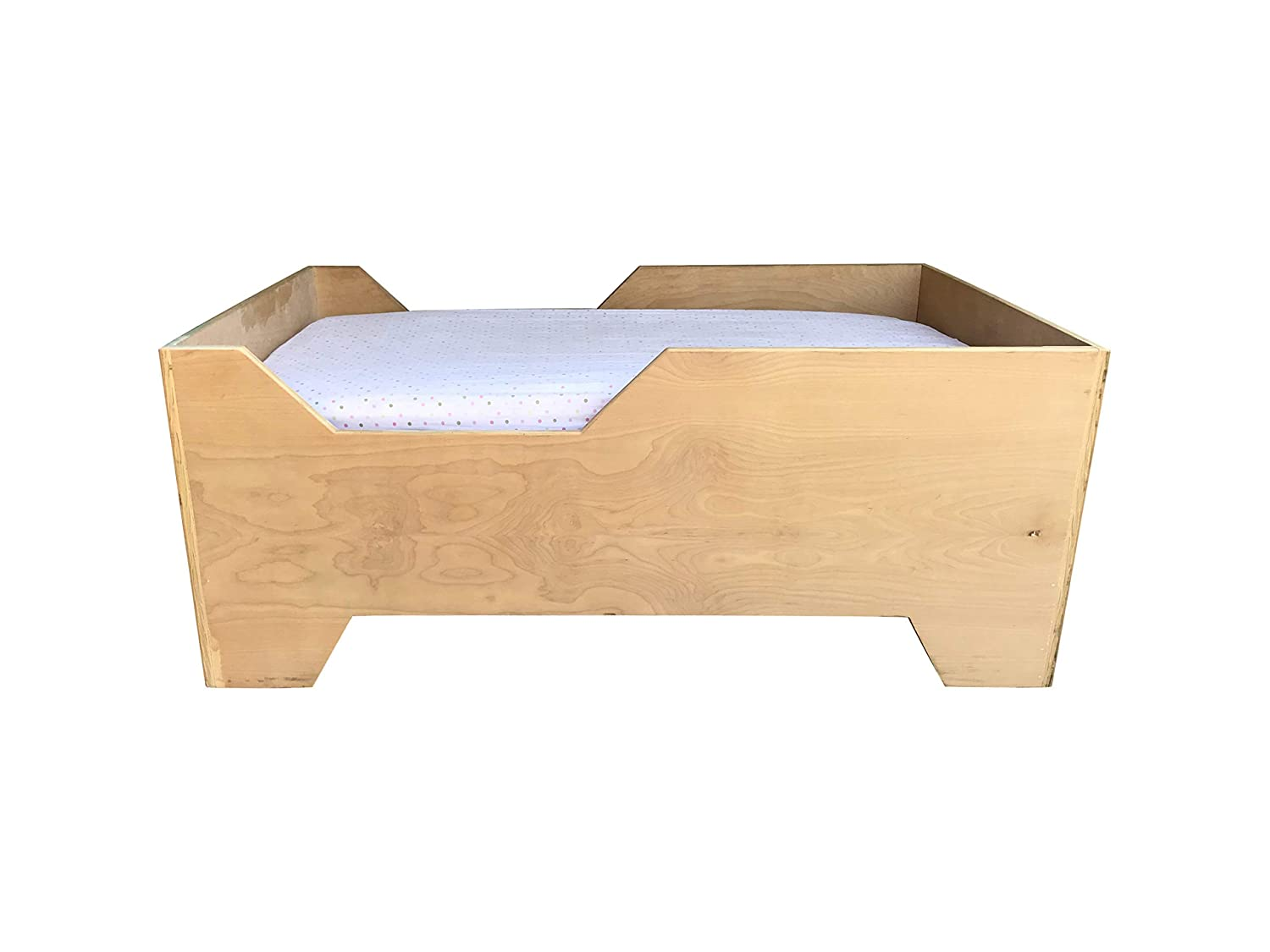 Amazon.com: Kids Toddler Bed by CW Furniture Custom Handmade ...