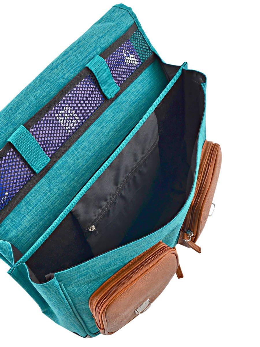 Cameleon Bolso 709-0VINCA3817-FBA escolar, Bi Turquoise (Azul) - 709-0VINCA3817-FBA Bolso dda25f