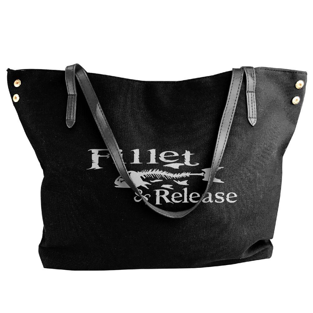 BlackRed Fillest And Release Women's Modern Black Shoulder Bag