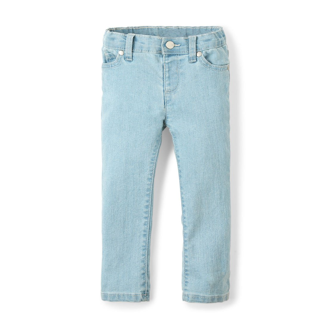 The Children's Place Girls' Toddler Skinny Jeans, SNWFLKWASH, 4T