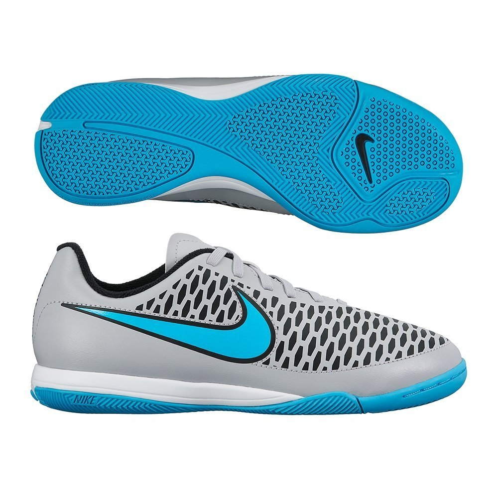 9d03091d9 Amazon.com | Nike Youth Magista Onda Indoor [Wolf Grey/Black/Turquoise  Blue] (12C) | Shoes