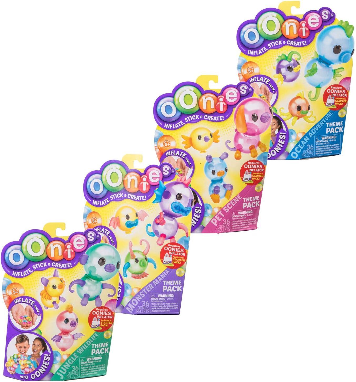 boti 34941 oonies recambios, hinchable Mini de globos, 36 unidades, surtidos, multicolor: Amazon.es: Juguetes y juegos