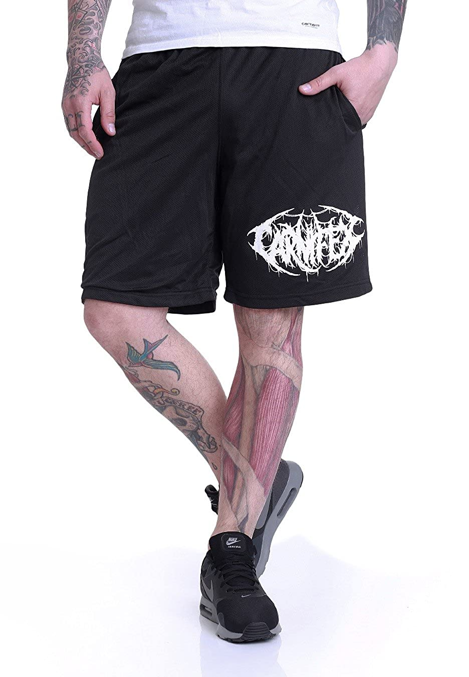 Carnifex Rest In Pain Zip - Shorts