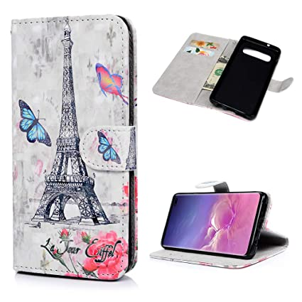 Amazon.com: Funda tipo cartera para Samsung Galaxy S10 Plus ...