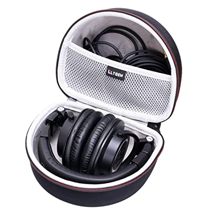 7fde0b9cdb5 Amazon.com: LTGEM Case for Audio-Technica ATH-M50x/M50/M70X/M40x/M30x/M50xMG  Professional Studio Monitor Headphones: Home Audio & Theater
