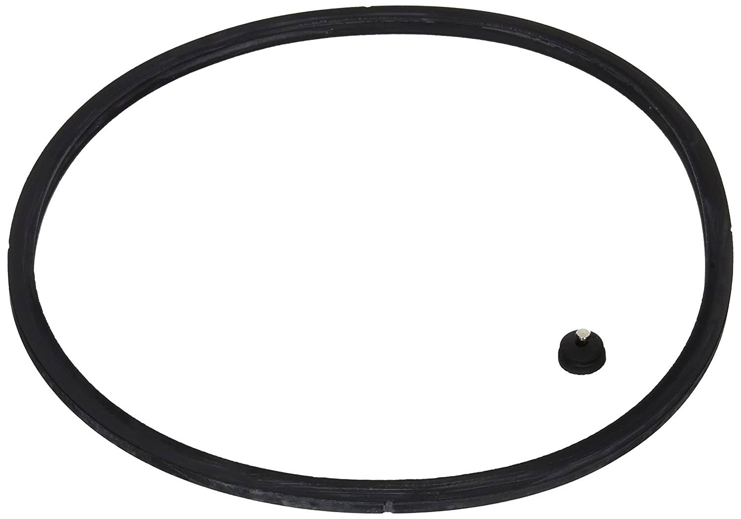 Presto 09919 Pressure Cooker Sealing Ring/Automatic Air Vent Pack (3 & 4 Quart)