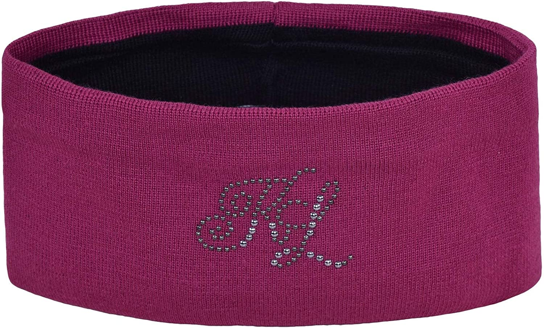 Kingsland Equestrian Nanaimo Knitted Womens Headband One Size Pink Magenta Haze