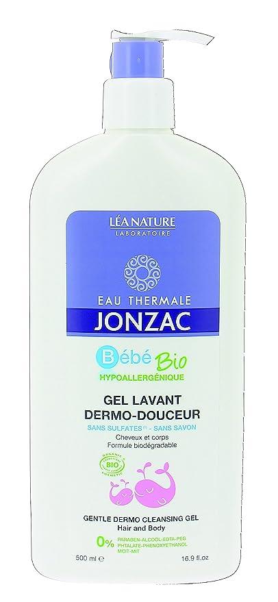 EAU THERMALE JONZAC Gel lavant Bébé dermo-douceur cheveux et corps - 500 ml