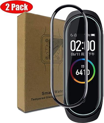 cookaR Protector de Pantalla Xiaomi Mi Band 4, Cristal Templado [Borde 3D] [9H Dureza] [Resistente a Arañazos] [Anti-Huella] Templado Xiaomi Mi Band 4 Smart Armband, Negro: Amazon.es: Electrónica