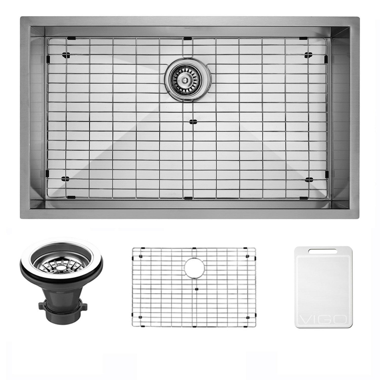 VIGO VG3019B Ludlow Undermount Single Bowl Kitchen Sink Review ...
