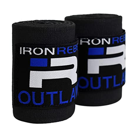 d396d20614796 Iron Rebel Outlaw Wrist Wraps - Lift Safely and Improve Performance with  Wrist Support for Powerlifting