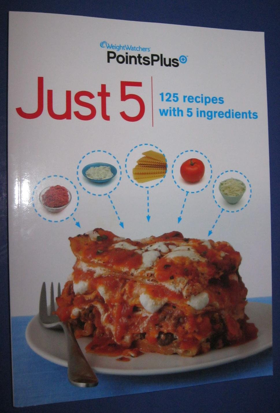 Weight watchers points plus just 5 cookbook 125 recipes with 5 weight watchers points plus just 5 cookbook 125 recipes with 5 ingredients weight watchers amazon books nvjuhfo Images