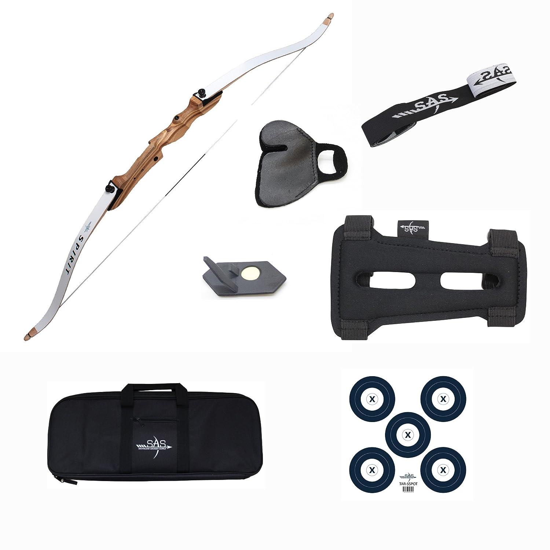 "Southland Archery Supply SAS Spirit 62"" Beginner Bow Set"