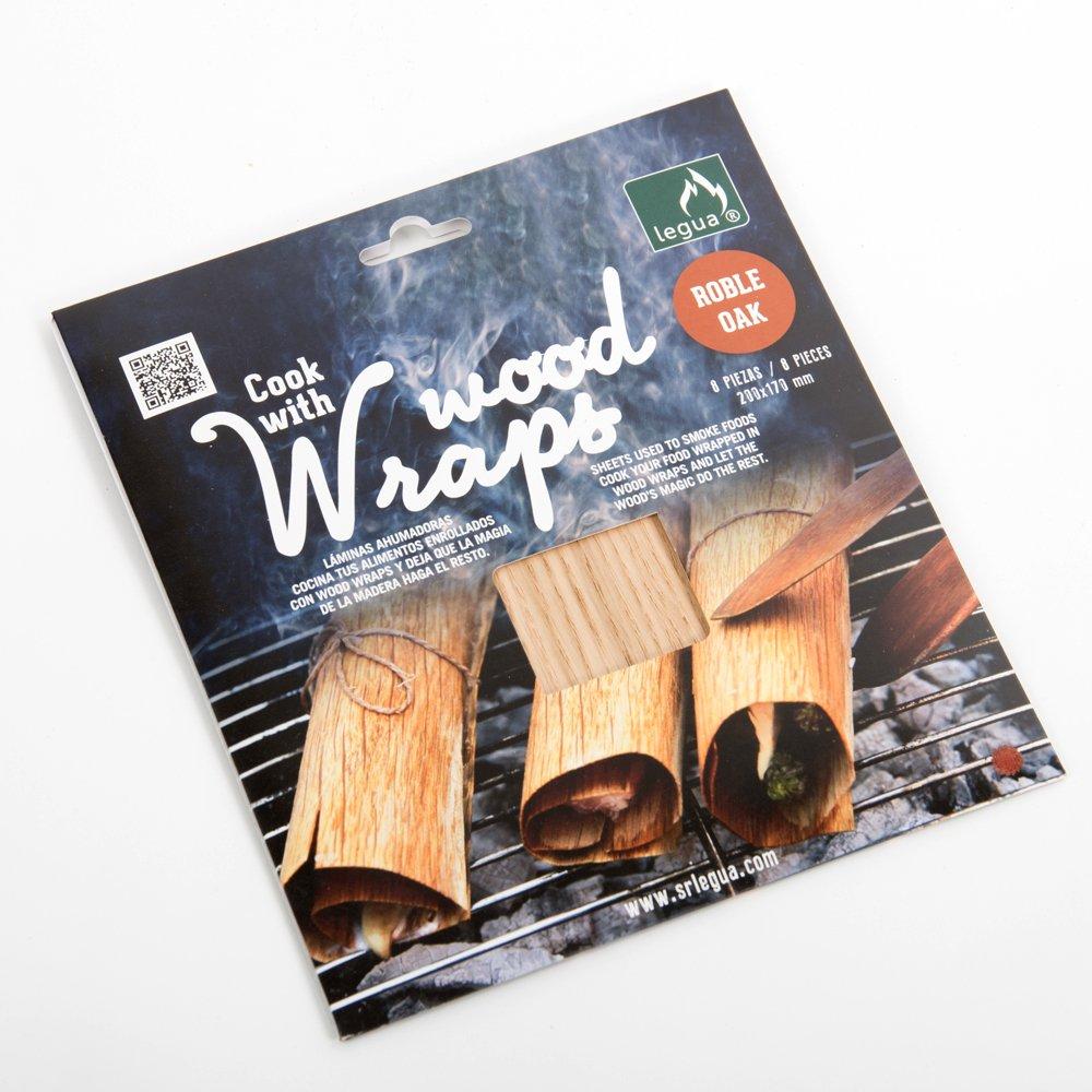 WOOD WRAPS ROBLE Leñas Legua