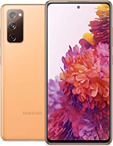 Samsung Galaxy S20 FE 5G | Factory Unlocked Android Cell Phone | 128 GB | US Version Smartphone | Pro-Grade Camera, 30X Space Zoom, Night Mode | Cloud Orange