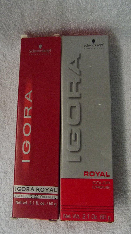 Amazon Schwarzkopf Professional Igora Royal Permanent Color
