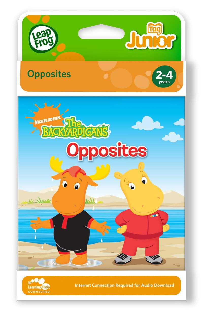 Leapfrog Tag Junior Book: The Backyardigans Opposites by Nickelodeon (Image #3)