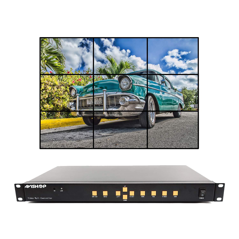 AVIshop 3 x 3 HDMI Video Wall Processor HD TV 1080P Matrix ...