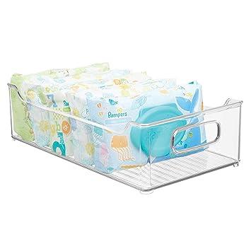 mDesign Cestas organizadoras para artículos de bebé - Caja ...