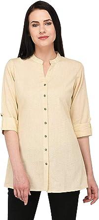 Vastraa Fusion - Camiseta Oficial de algodón Flexible Kurta ...