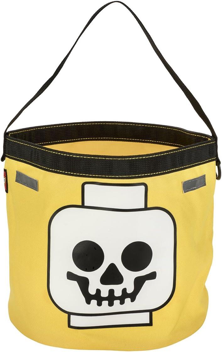LEGO Skull Halloween Tote, Yellow