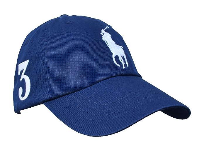 Polo Ralph Lauren 710701134001 Sombreros Hombre Azul TU: Amazon.es: Ropa y accesorios