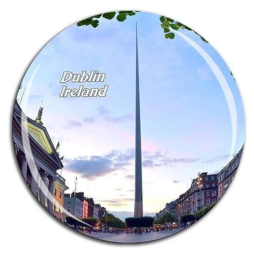 Weekino Dublin Spire Irlanda Imán de Nevera Cristal de Cristal 3D ...