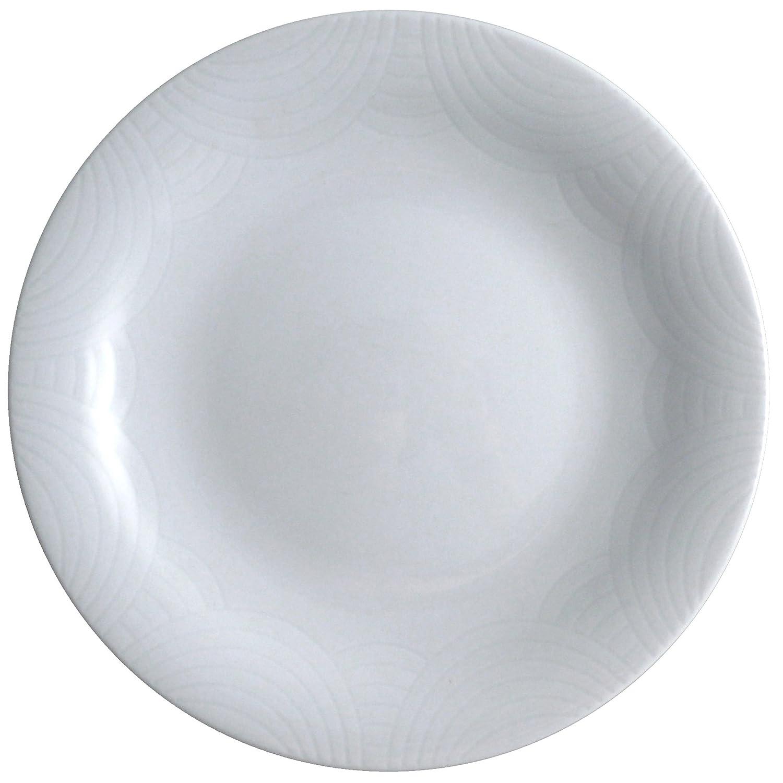 1 cm Cer/ámica Pierre Cardin Plato para Postre Blanco