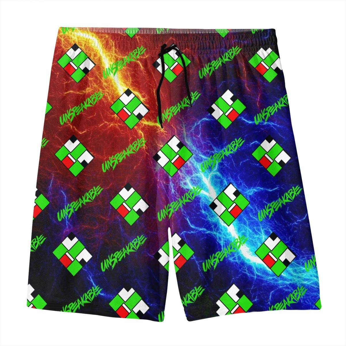 Mucup Youth Board Shorts Quick Dry Kid Swim Trunks Boys Bathing Suits