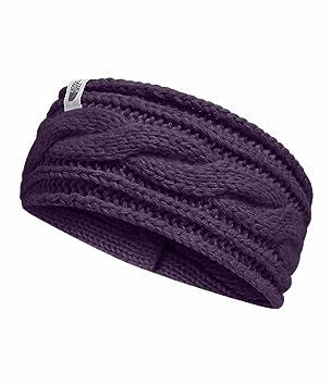 36add8b7a THE NORTH FACE Women's Cable Ear Gear Dark Eggplant Purple: Amazon ...