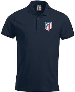 b9bd72859 Athletico Madrid 1960 s Football Polo Sizes S-XXXL Embroidered Logo